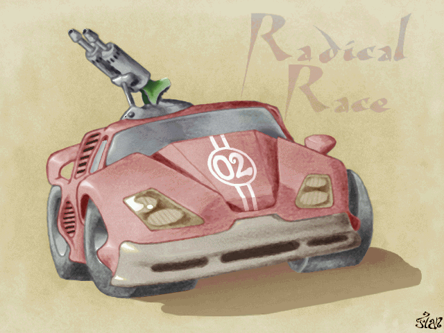 Radical Race [Falcon030] atari screenshot